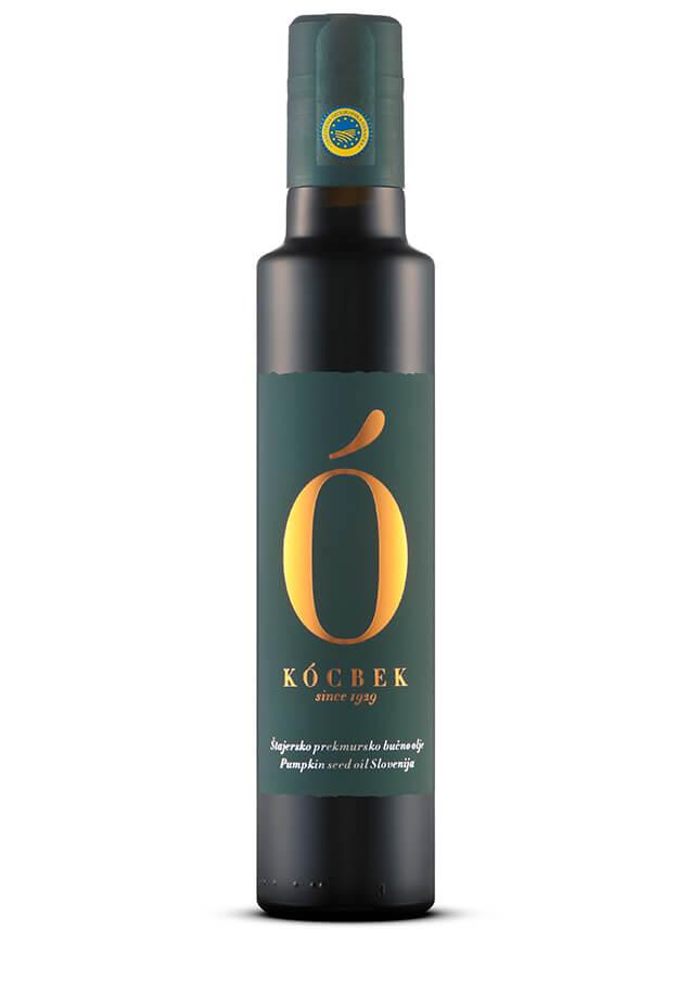 Štajersko prekmursko pumpkin seed oil – Dark label - Kocbek