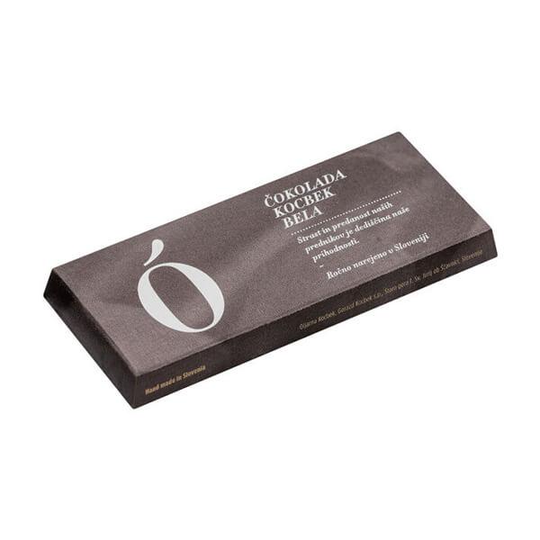 Čokolada Kocbek ekstra bela