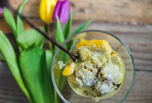 Recipe - Ice cream with pumpkin seed oil - Kocbek Oil Mill