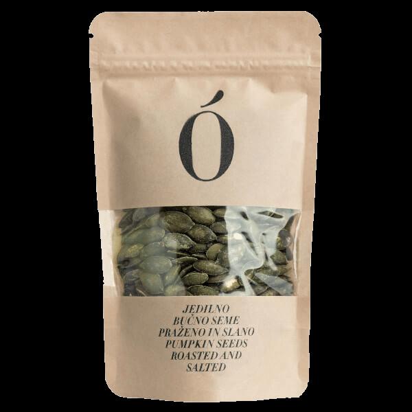 Kocbek bučna semena pražena in slana 100 - Oljarna Kocbek