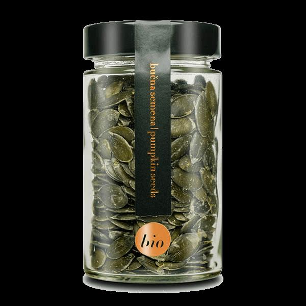 Kocbek bučna semena v kozarcu - Oljarna Kocbek