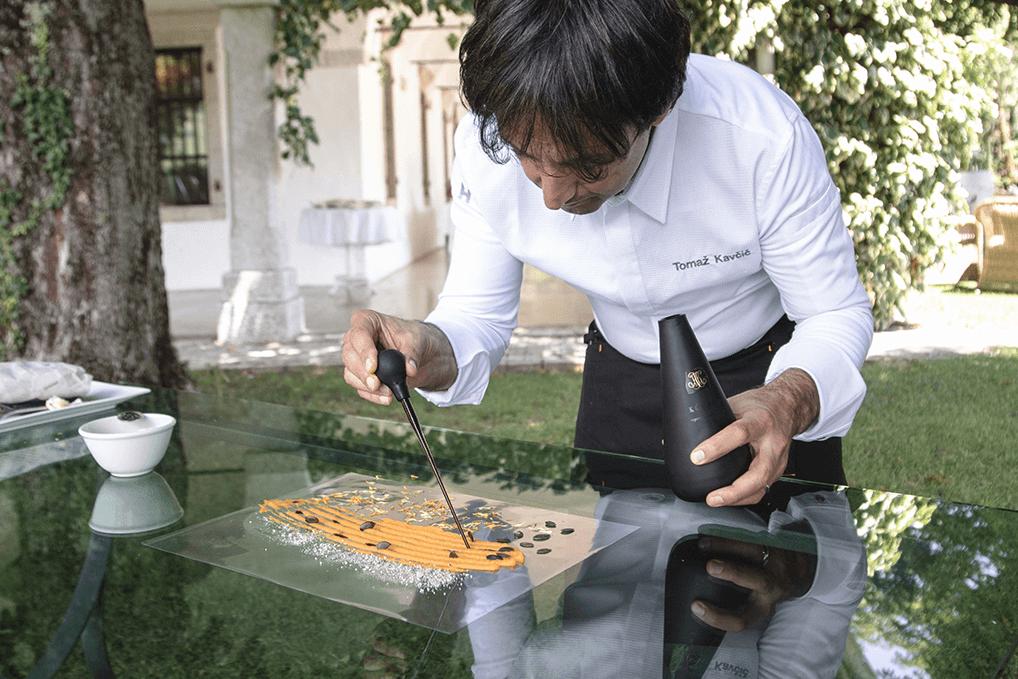 Kuharski chef Tomaž Kavčič
