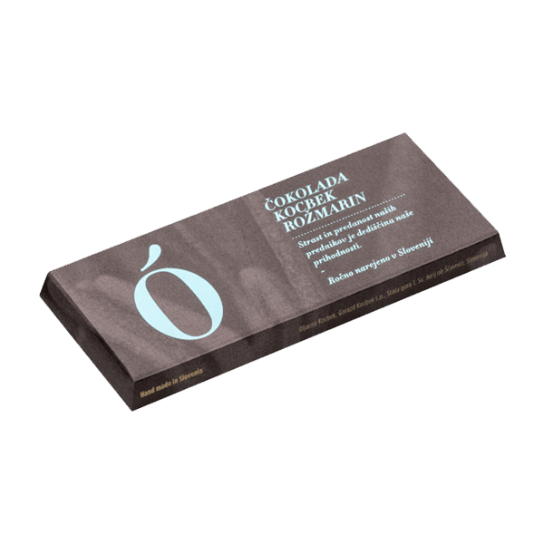 Kocbek čokolada rožmarin - Oljarna Kocbek