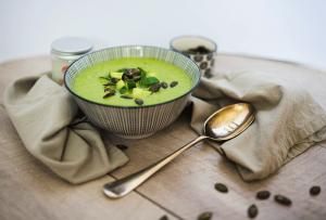 Recept - Hladna Kumarična juha - Oljarna Kocbek